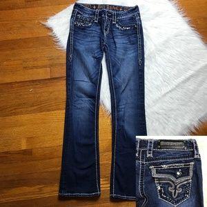 Rock Revival Bling Kai Boot Cut Jeans